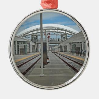 Union Station Denver Christmas Ornament