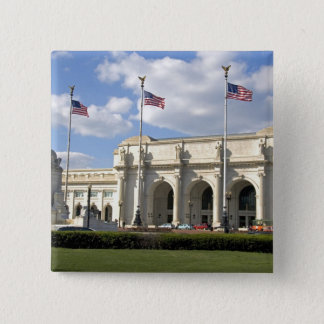 Union Station in Washington, D.C. 15 Cm Square Badge