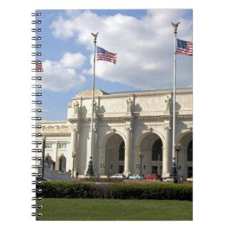 Union Station in Washington, D.C. Notebooks