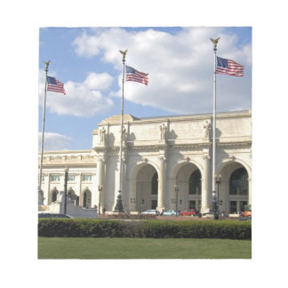 Union Station in Washington, D.C. Notepad