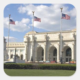 Union Station in Washington, D.C. Square Sticker