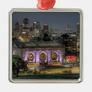 Union Station (Kansas City) Christmas Ornament