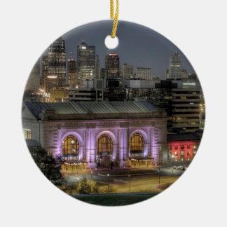 Union Station (Kansas City) Christmas Ornament