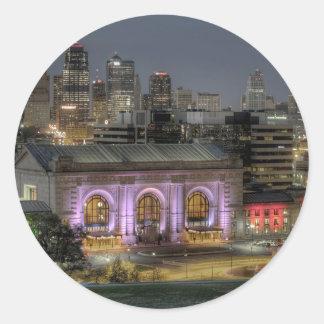 Union Station (Kansas City) Classic Round Sticker