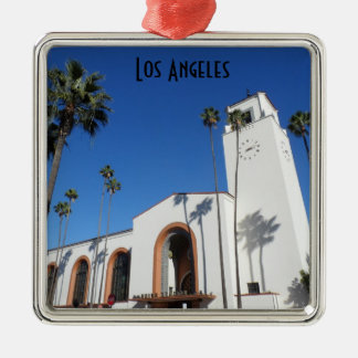 Union Station- Los Angeles Christmas Ornament