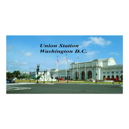 Union Station Washington D.C. Custom Photo Card