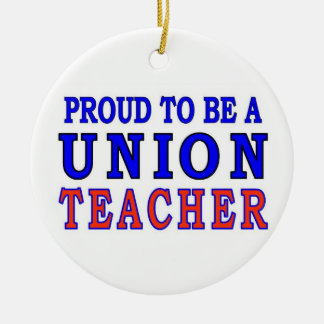 UNION TEACHER CHRISTMAS ORNAMENT
