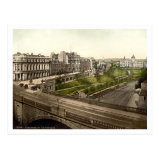 Union Terrace, Aberdeen, Scotland Postcard