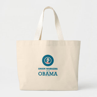 Union Workers for Obama Tote Bags