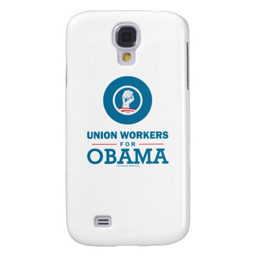 Union Workers for Obama Galaxy S4 Cases