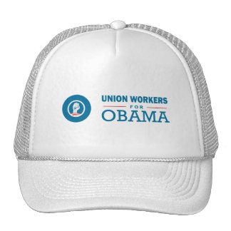 Union Workers for Obama Trucker Hats
