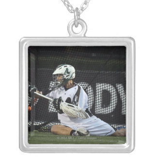 UNIONDALE, NY - AUGUST 06:  Drew Adams #14 Silver Plated Necklace