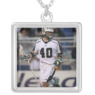 UNIONDALE, NY - AUGUST 06:  Matt Danowski #40 Silver Plated Necklace