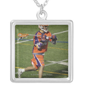 UNIONDALE, NY - AUGUST 13:  Brett Bucktooth #26 Silver Plated Necklace