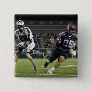 UNIONDALE, NY - JULY 16:  Jason Duboe #25 15 Cm Square Badge
