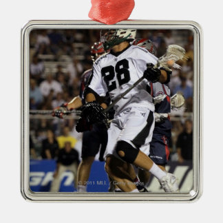 UNIONDALE, NY - JULY 16: Zach Brennemann#28 Christmas Ornament