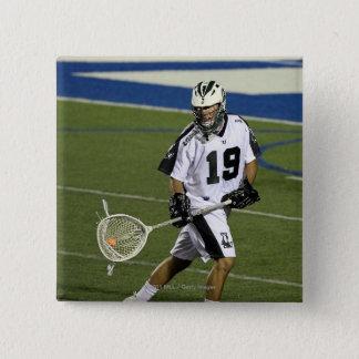 UNIONDALE, NY - JULY 28:  Matt Madalon #19 2 15 Cm Square Badge