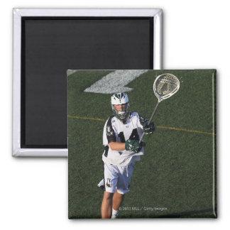 UNIONDALE, NY - JUNE 03:  Drew Adams #14 Square Magnet