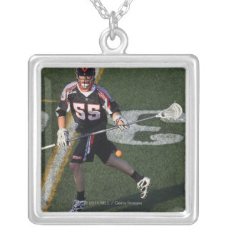 UNIONDALE, NY - JUNE 03:  Eric Martin #55 3 Silver Plated Necklace