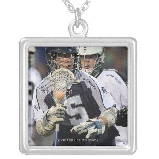 UNIONDALE, NY - JUNE 16:  Alex Smith #5 2 Necklaces