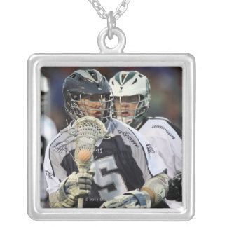UNIONDALE, NY - JUNE 16:  Alex Smith #5 2 Silver Plated Necklace