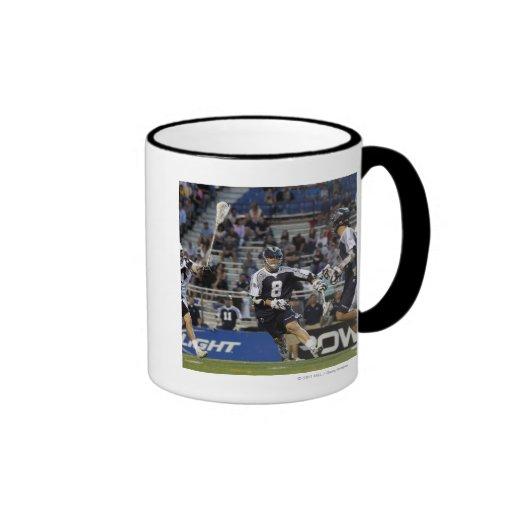 UNIONDALE, NY - JUNE 16:  Brian Carroll #8 Ringer Mug