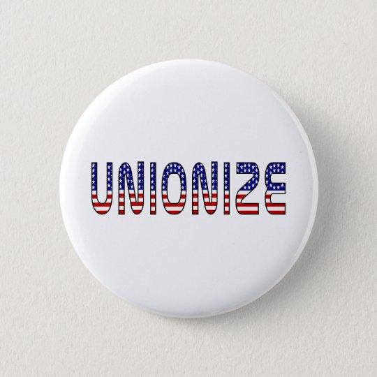 Unionise 6 Cm Round Badge