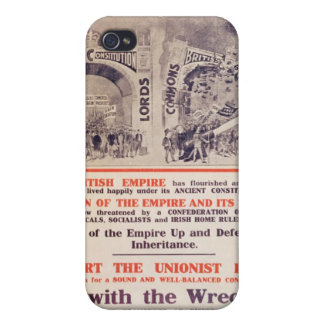 Unionist Party Poster for British General iPhone 4 Case
