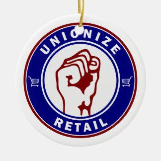 Unionize Retail Christmas Ornament