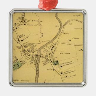 Unionport, Westchester, Schuylerville Christmas Ornament