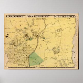 Unionport, Westchester, Schuylerville Poster