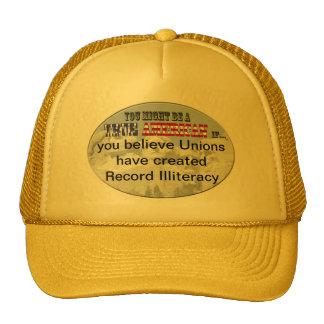 unions created record illiteracy cap