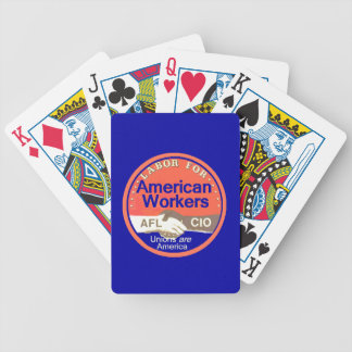 Unions Labor Poker Cards