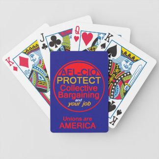 Unions Labor Poker Deck