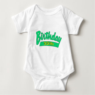 Unique 55th Birthday Gifts Tee Shirt