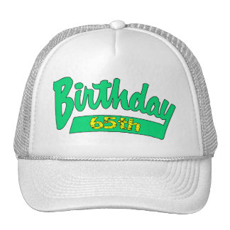 Unique 65th Birthday Gifts Mesh Hat