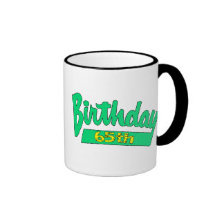 Unique 65th Birthday Gifts Mugs