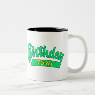 Unique 75th Birthday Gifts Coffee Mugs