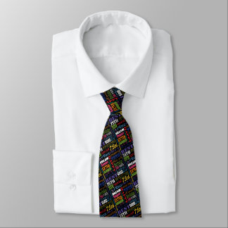Unique 75th Birthday Party Personalized Gifts Tie
