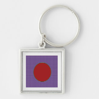 Unique AAA Rated - Acrylic Designer blue n red Key Chains