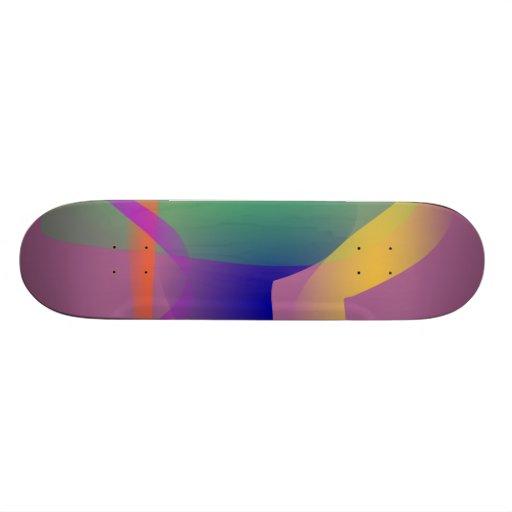 Unique Abstract Design Skate Board Decks