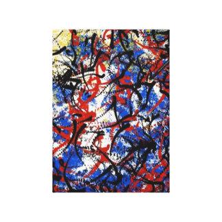 Unique Abstract Gallery Wrap Canvas