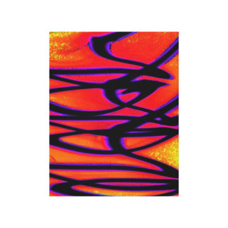 Unique Abstract Gallery Wrapped Canvas