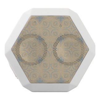 Unique abstract pattern white boombot rex bluetooth speaker