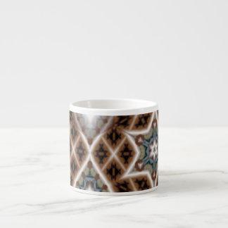 unique abstract pattern espresso mug