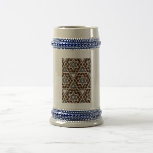 Unique abstract pattern coffee mug