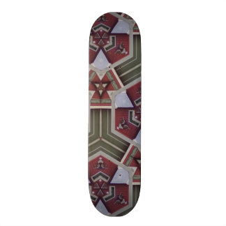Unique abstract pattern skate boards