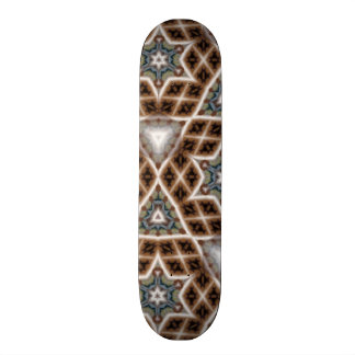unique abstract pattern skate decks