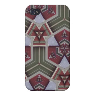 Unique abstract pern case for iPhone 4