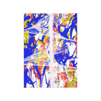 Unique Abstract Stretched Canvas Print